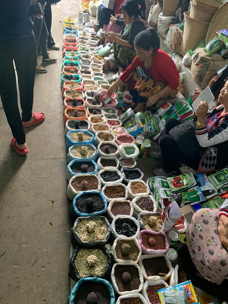 Day 6 Aizawl Market Day Rowan Sorrell